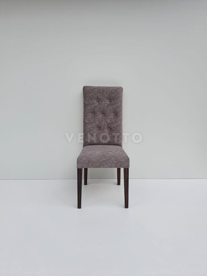 Krzesło Infiniti z guzikami i wałkiem tyłem