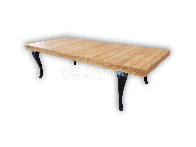 Stół na wymiar w fornirze orzech europejski